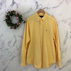 Ralph Lauren Mens XL Classic Fit Dress Shirt